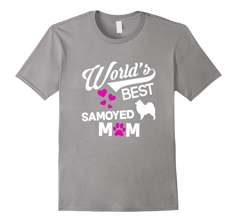 World's Best Samoyed Mom T-Shirt-Art