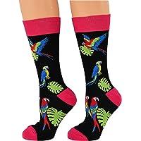 ARAD Novelty Parrot Socks for Men and Women, Crazy Animal-Themed Apparel