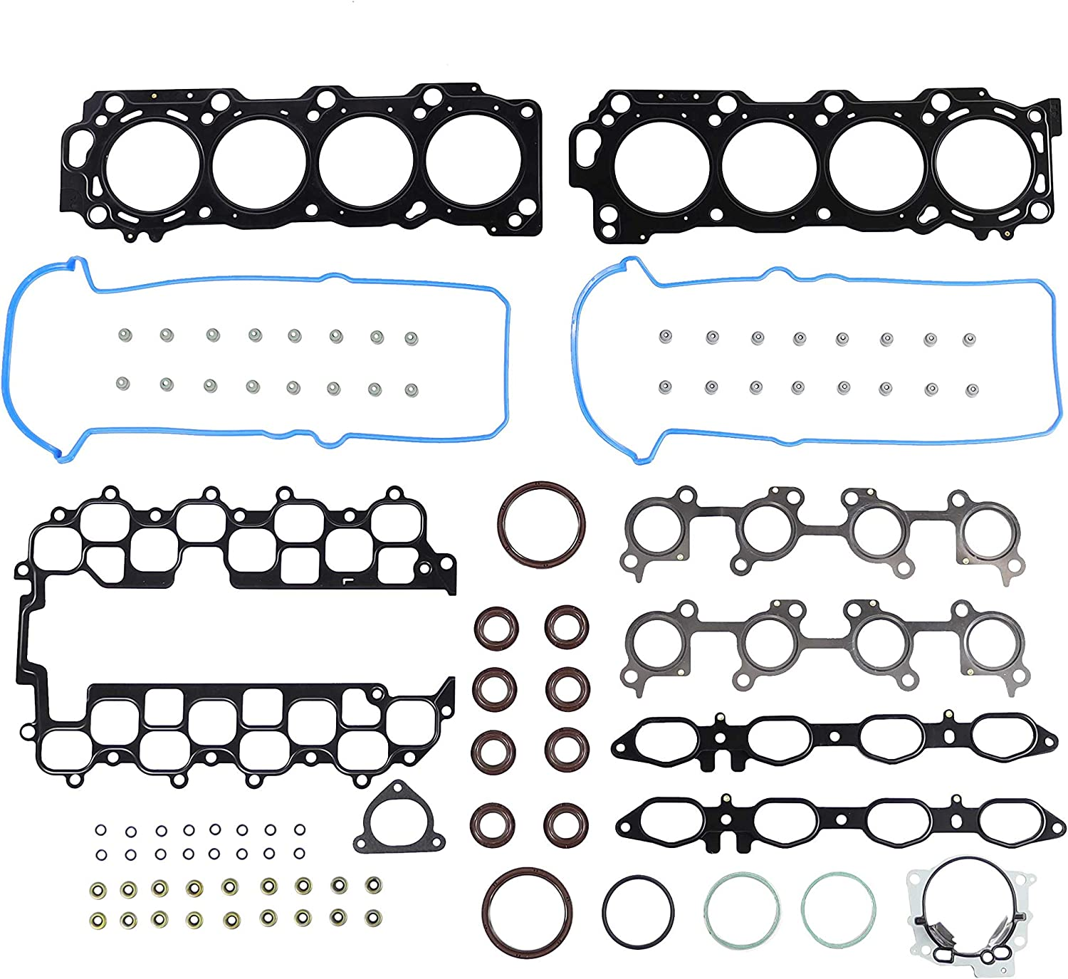 Head Gasket Set Bolt Kit Fits 01-10 Lexus SC430 4.3L V8 DOHC 32v 3UZFE