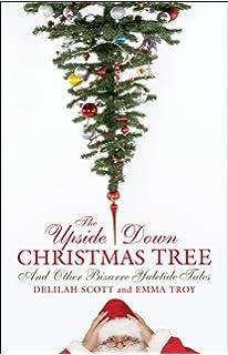 Amazon.com: Vickerman 75' Upside Down Artificial Christmas Tree ...