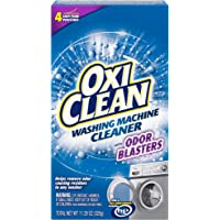OxiClean Washing Machine Cleaner with Odor Blasters 4 Ct