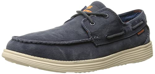 Gu¨ªa para hombres, m¨¢s zapatos lavados, azul marino lavado, 8