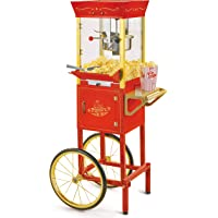 Nostalgia Electrics Vintage Collection Kettle Commercial Popcorn Cart