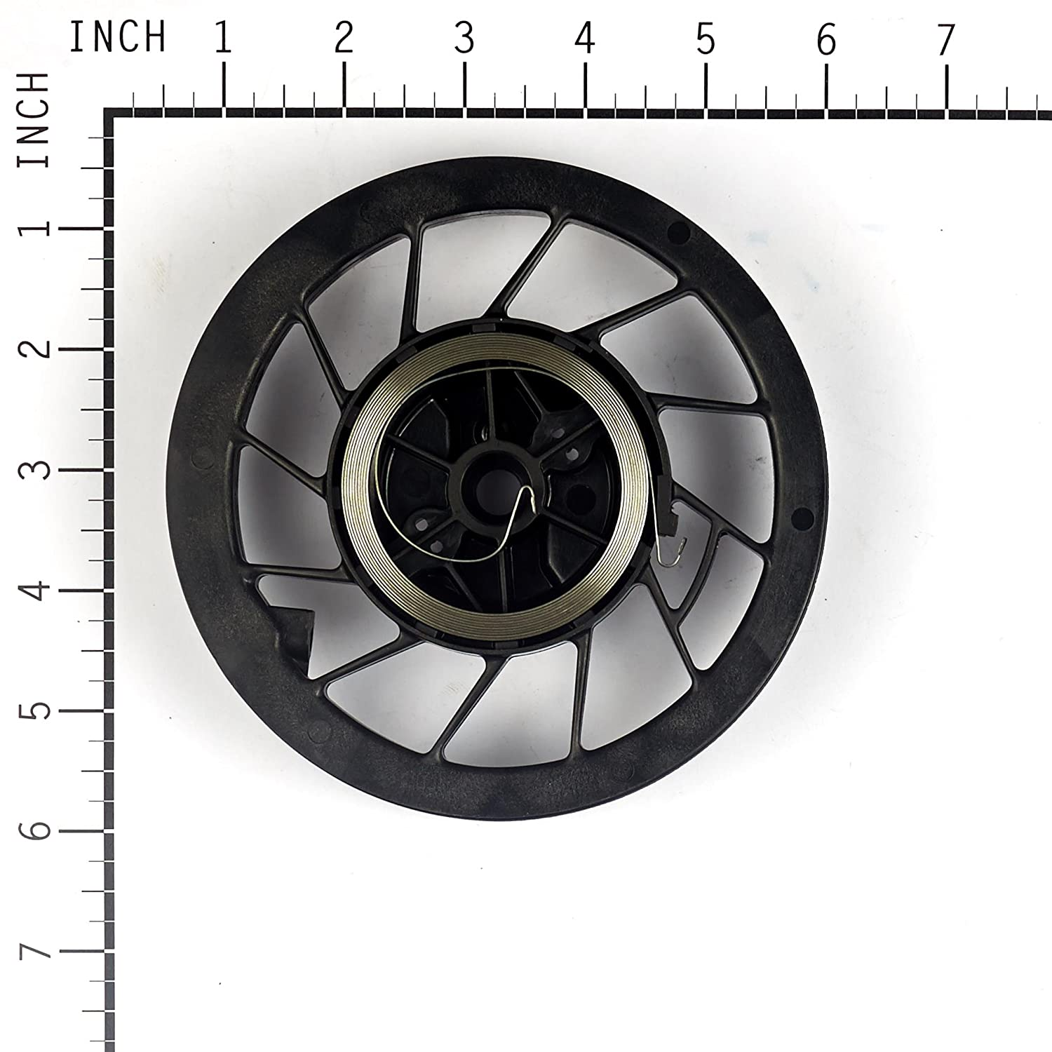 Amazon.com : Briggs & Stratton 498144 Recoil Pulley with Spring for Quantum  Engines, 5 HP Horizontal and 6 HP Intek Engines : Lawn Mower Pulleys :  Garden & ...