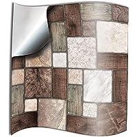 24x mosaico de mármol Lámina impresa 2d PEGATINAS
