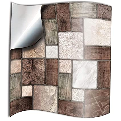 24 Multi Mosaic 2d Printed Kitchen Bathroom Tile Stickers For 6 Inch 15cm Square Tiles Ntp0 Stick On Wall Tile Decals From Tile Style Decals No