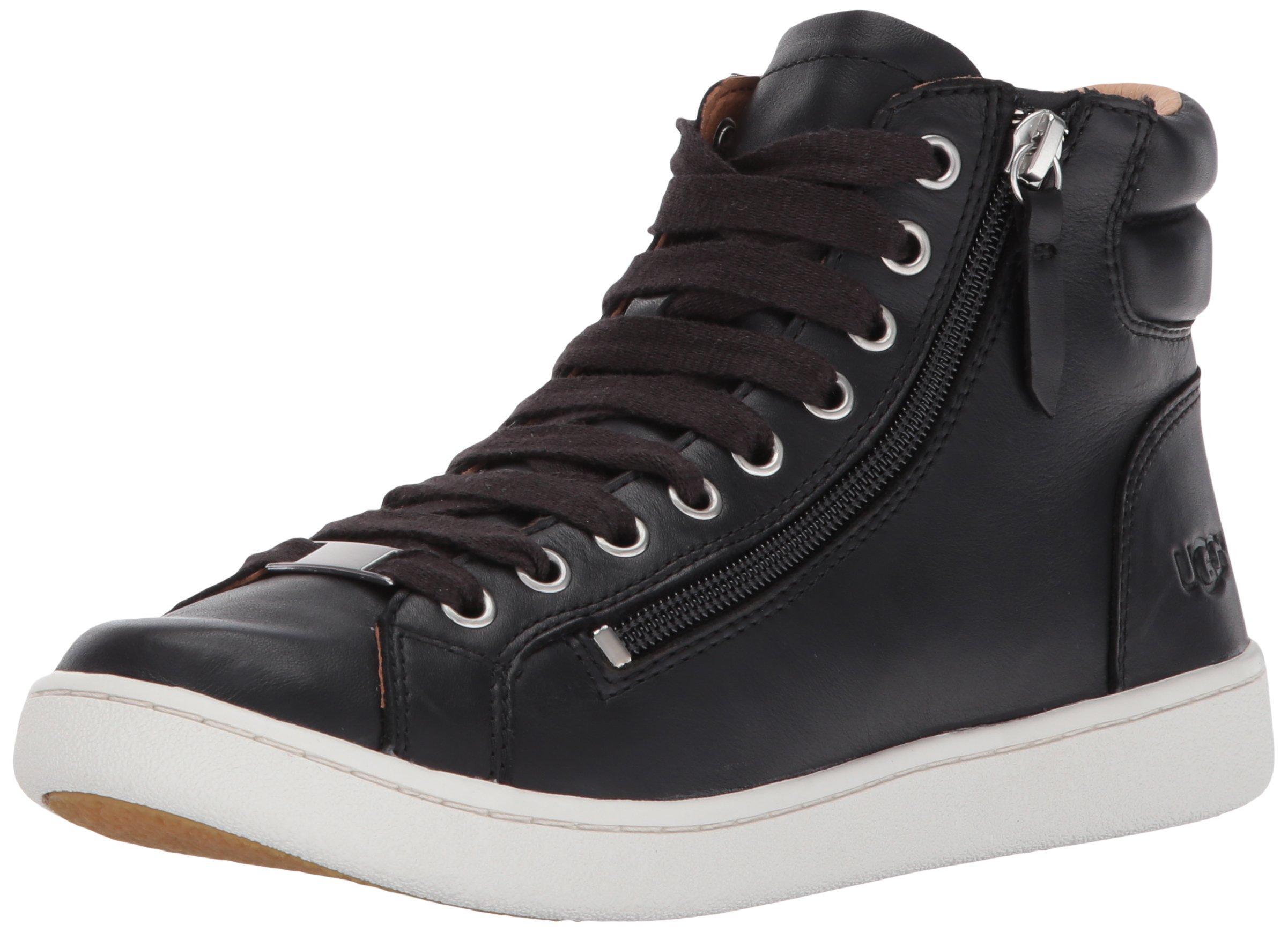 UGG Women's Olive Fashion Sneaker,Black,9 M US