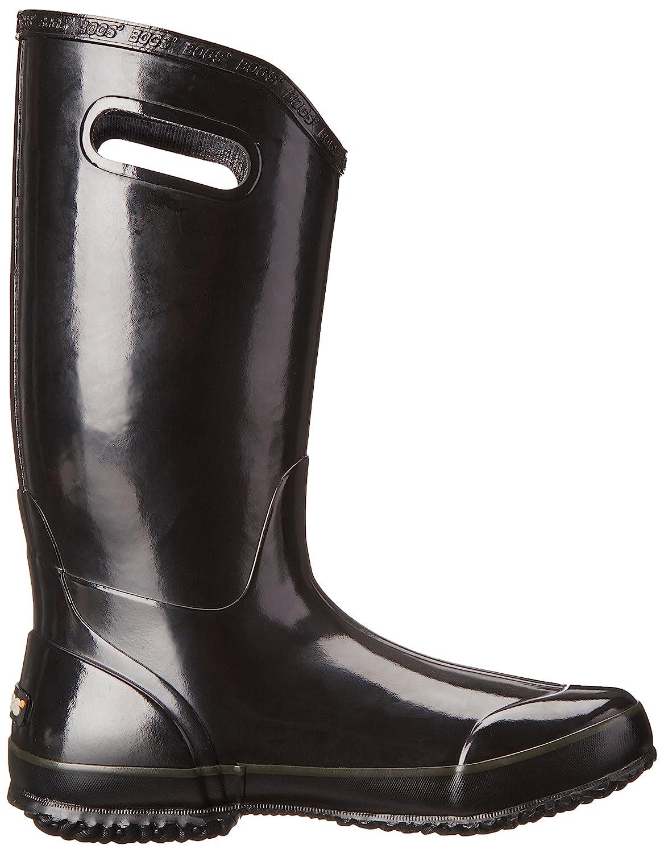 Bogs Women's Solid Rain Boot B00GUJYS2G 7 B(M) US|Black