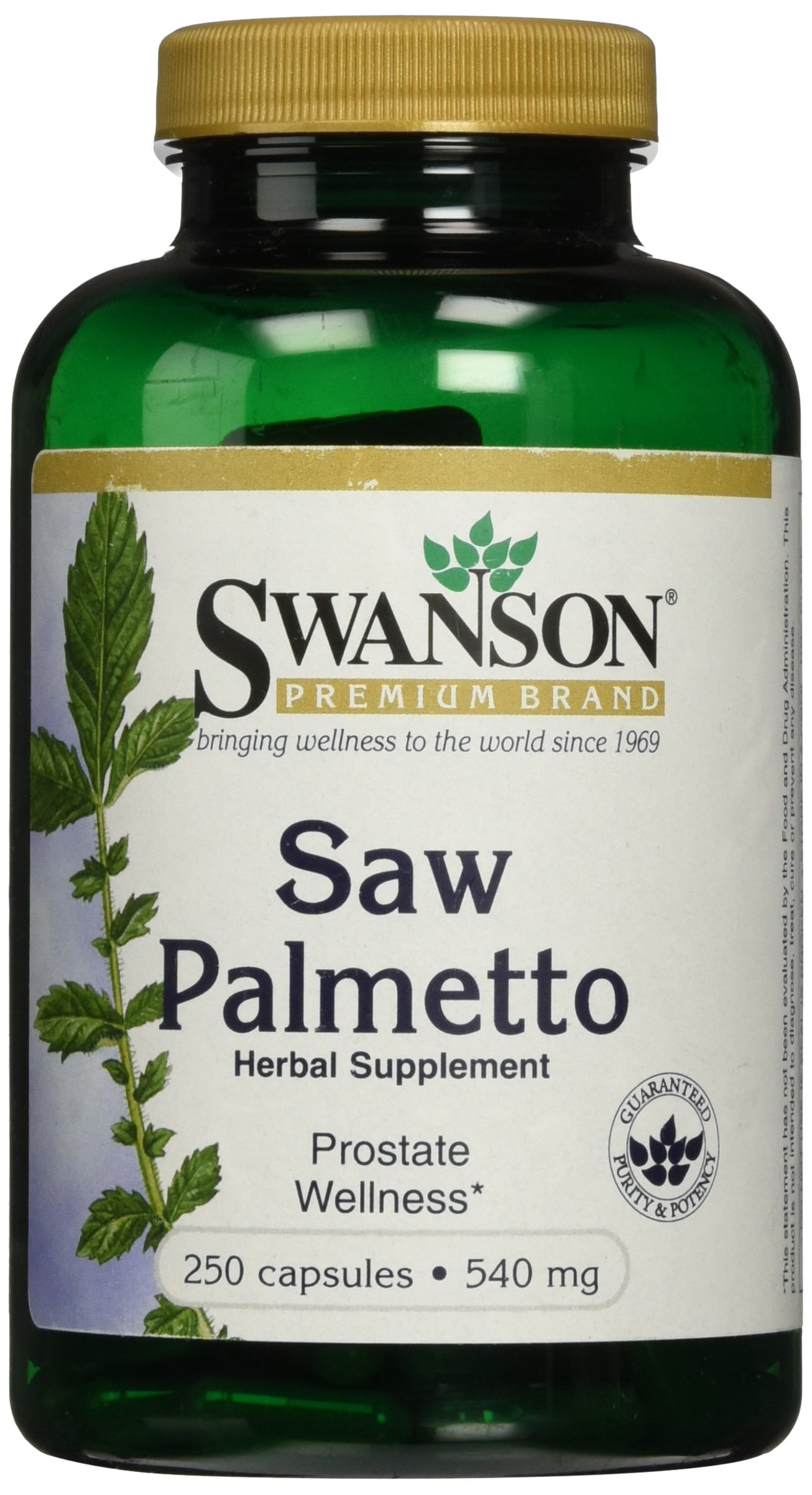 Saw Palmetto 540 mg 250 Caps