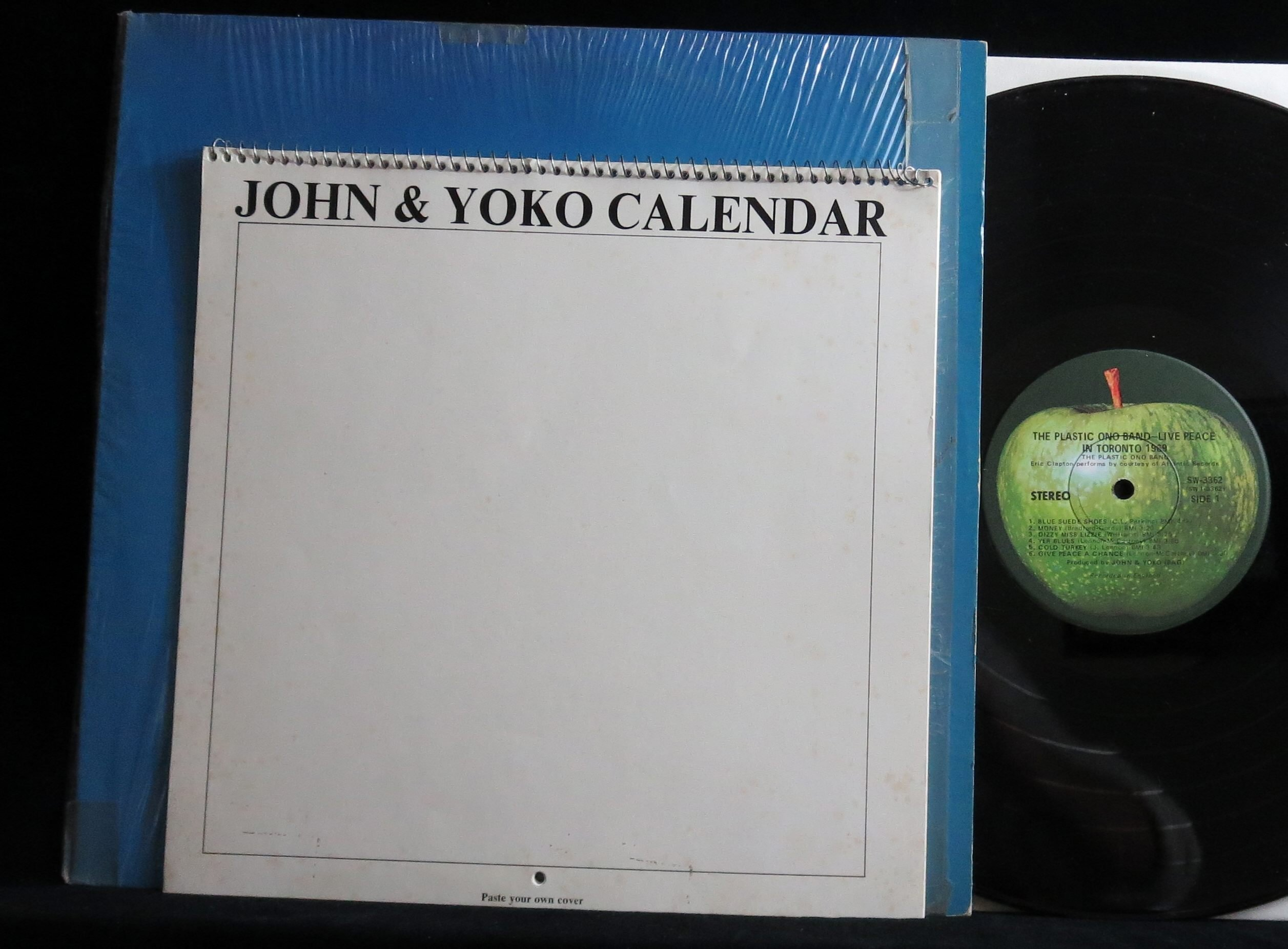 Live Peace in Toronto, 1969 (USA 1st pressing vinyl LP with calendar)