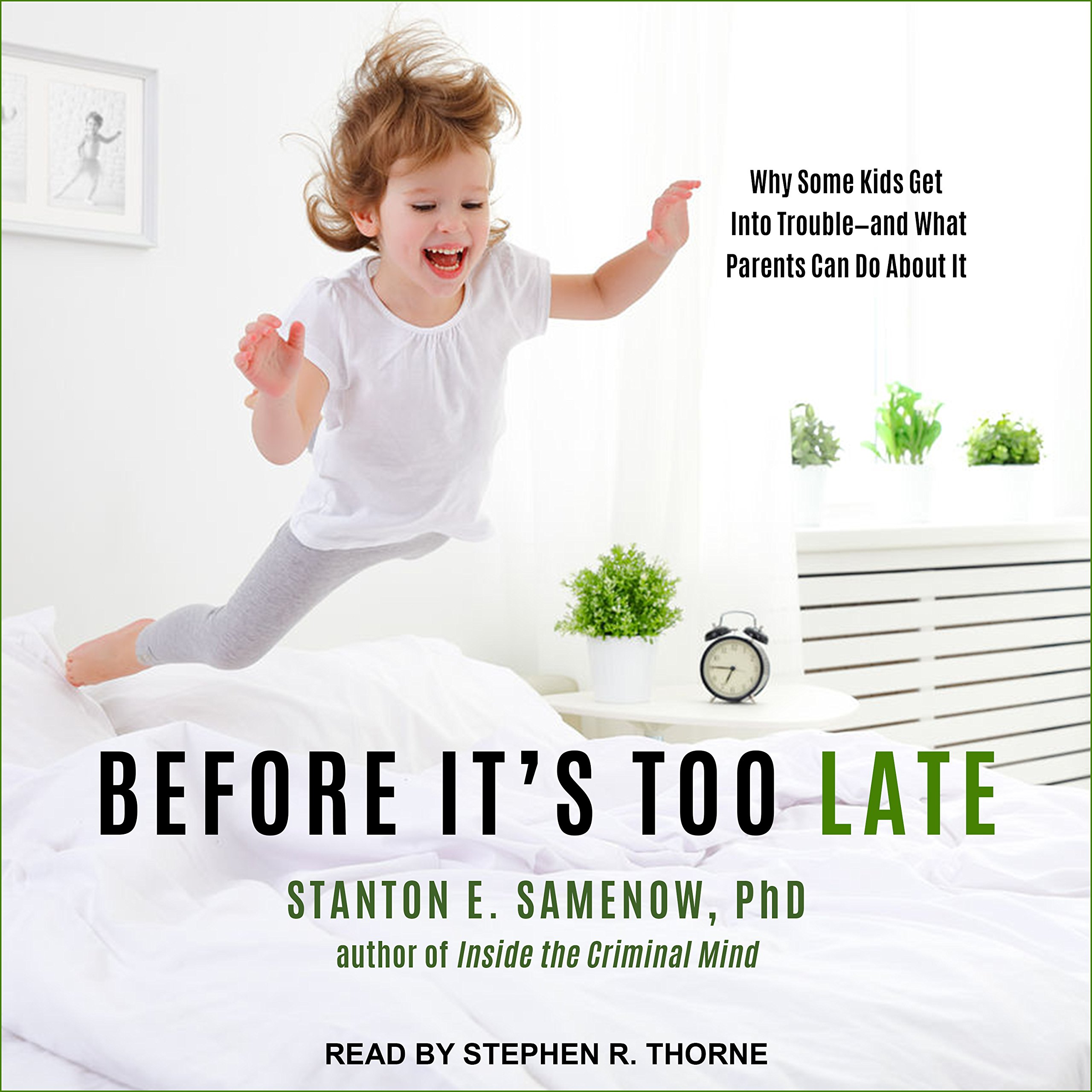 Before It's Too Late: Why Some Kids Get Into Trouble--and What Parents Can Do About It ebook