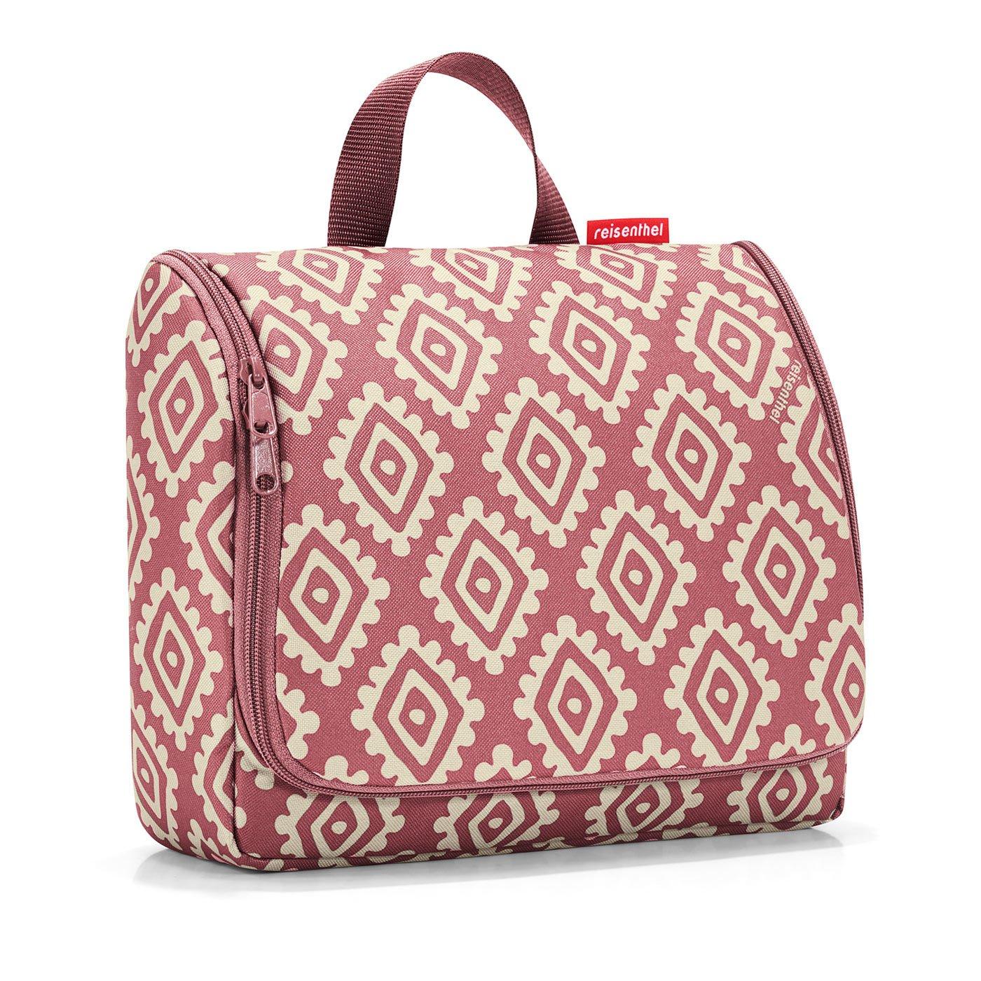 Reisenthel toiletbag XL Beauty Case da viaggio, 28 cm, 4 liters, Marrone (Diamonds Mocha) WO6039
