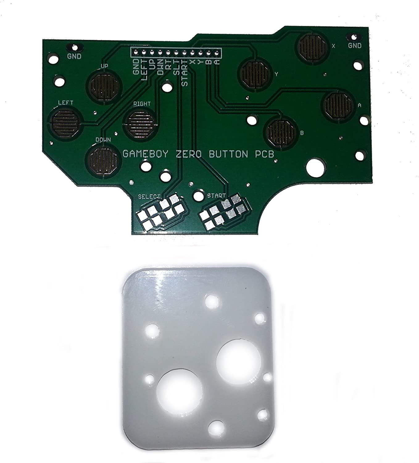 4 Button Pcb For Gameboy Dmg 01diy Pi Zero Made In Usa Making Systems Circuit With Grounds And Hole Guide Byatomic Market Video Games