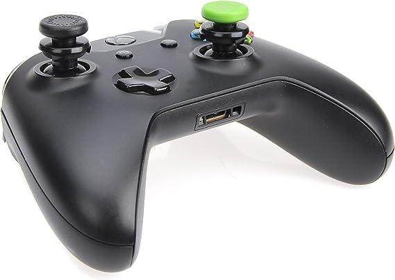 AmazonBasics - Tapones para mando de Xbox One, 4 unidades, Negro y ...