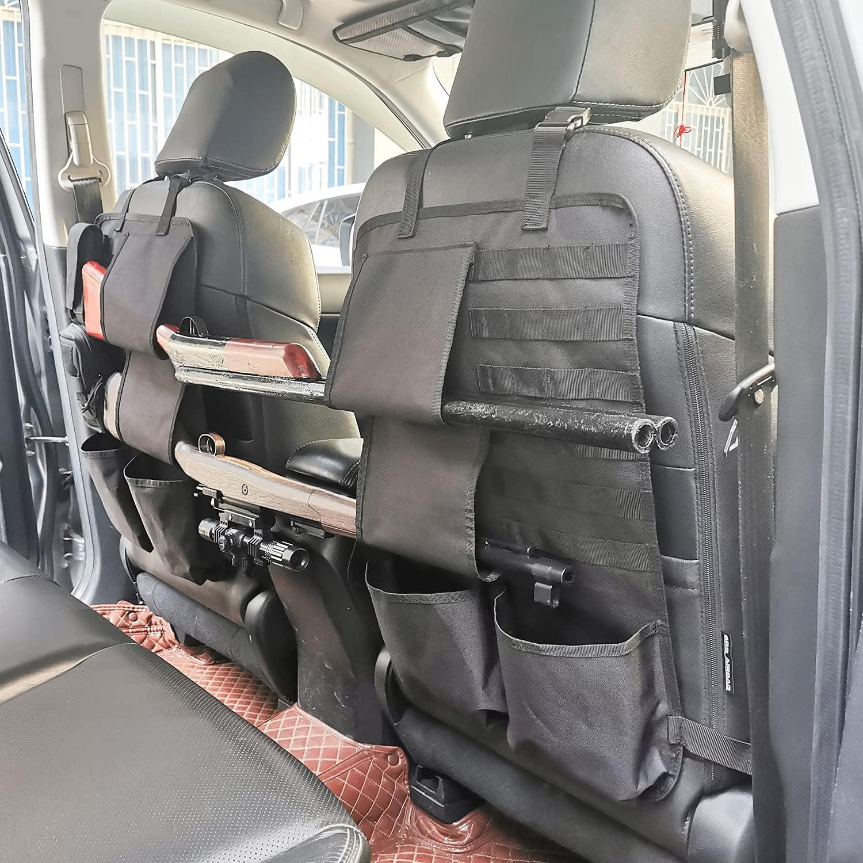 2PC//Pack Rifle Shotgun Holder Gun Sling Case Car Rack Back Seat Truck Organizer