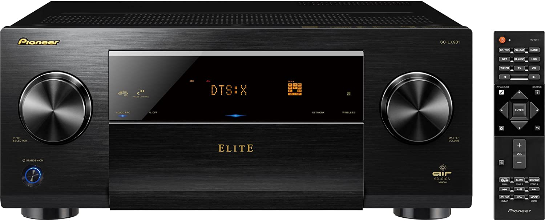 Pioneer Elite 11.2 Channel Class D3 Network AV Receiver, Black (SC-LX901)