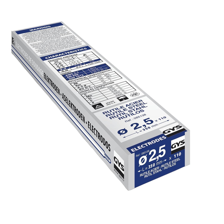 Gys - Electrodos para soldadura (110 x 2,5 mm): Amazon.es: Industria, empresas y ciencia