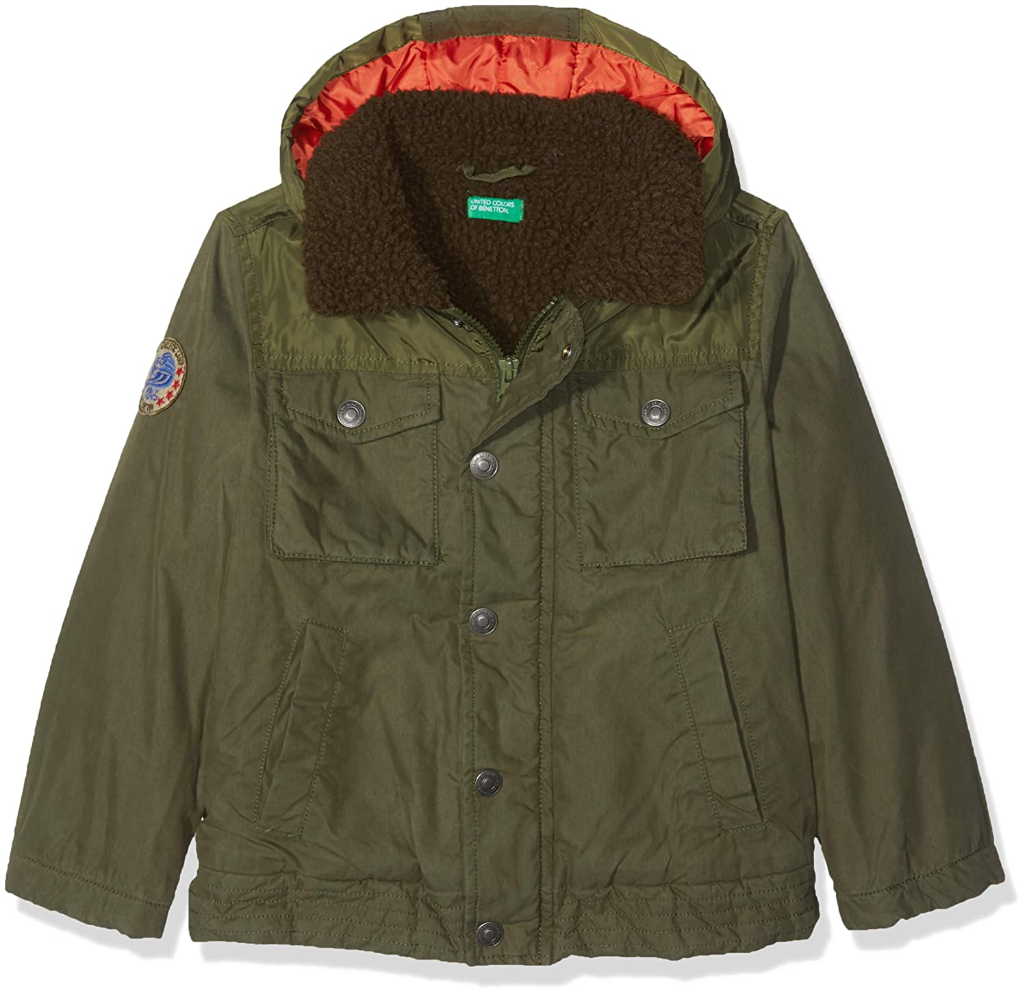 United Colors of Benetton Jacket Chaqueta, Verde (Military Green ...