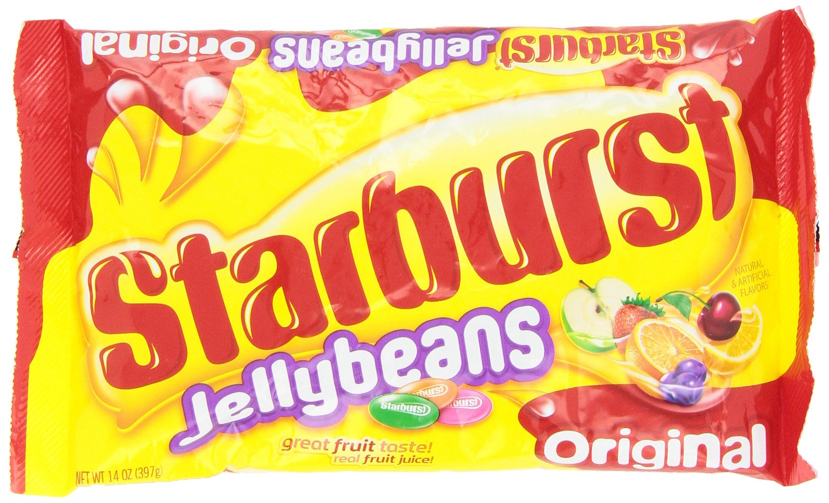 Starburst Jellybean Originals, 14 Ounce (Pack of 12)