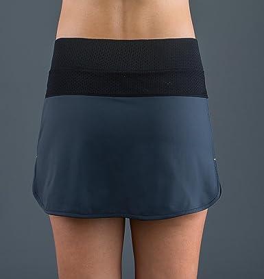 Endless 1000040300078 Falda de Tenis, Mujer, Gris, M: Amazon.es ...