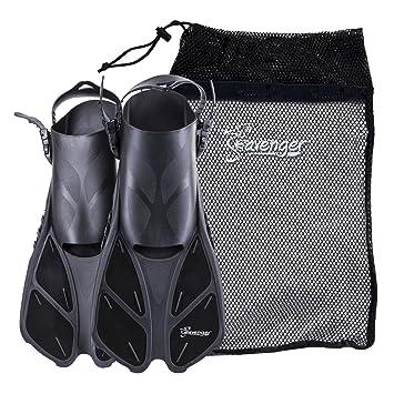 Amazon.com: Aletas de buceo con bolsa, de Seavenger: Sports ...