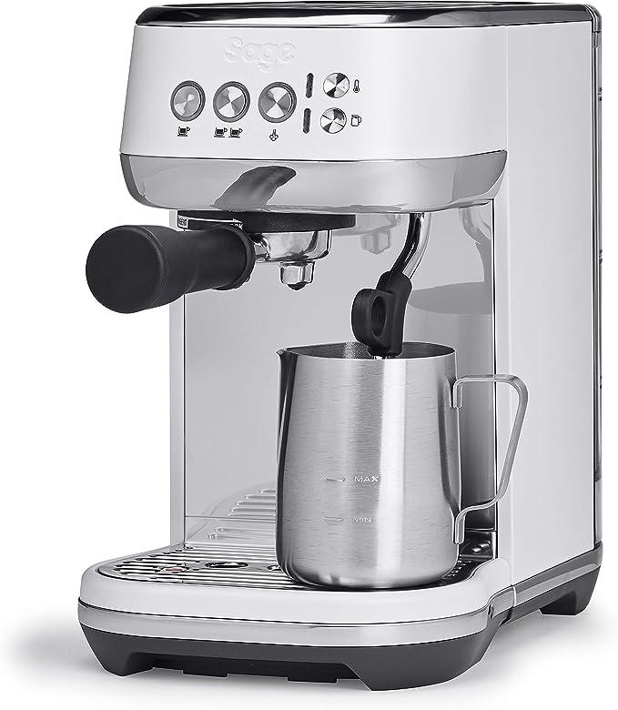 SAGE SES500SST the Bambino Plus, Cafetera espresso, Cappuccinatore ...