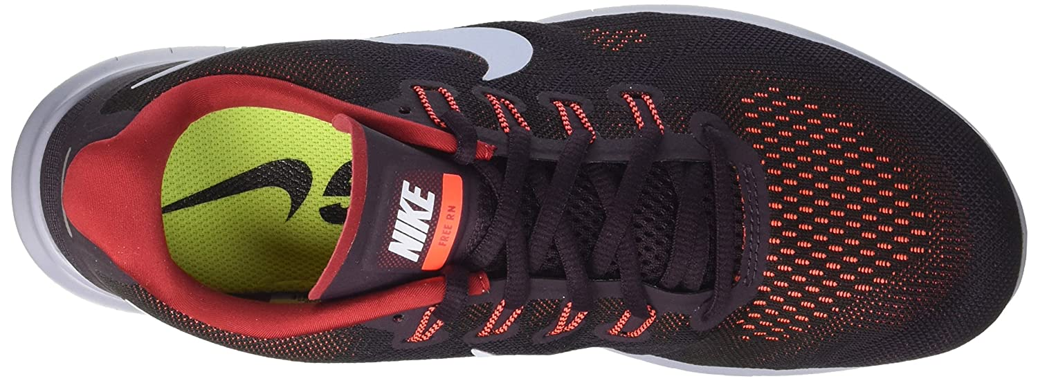 NIKE Men's Free RN Running Shoe B0032TH7OS 11 D(M) US|Black/Hydrogen Blue-tough Red