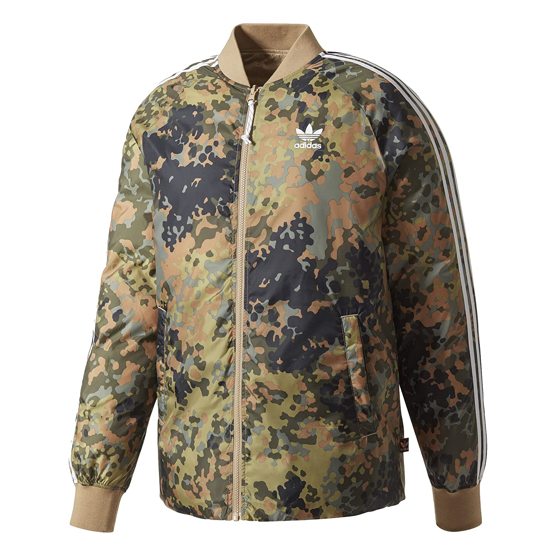 adidas Mens Originals Pharrell Williams hu Hiking Reversible Camo SST Jacket CY7867
