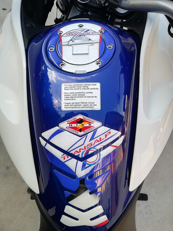 M White Gold PARASERBATOIO HONDA TRANSALP XL 700 V 2007 2013 GP-122