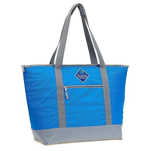 Cooler Bag Jumbo Size, Insulated Shopper, Leak Proof, Easy Clean Lining by  Sams