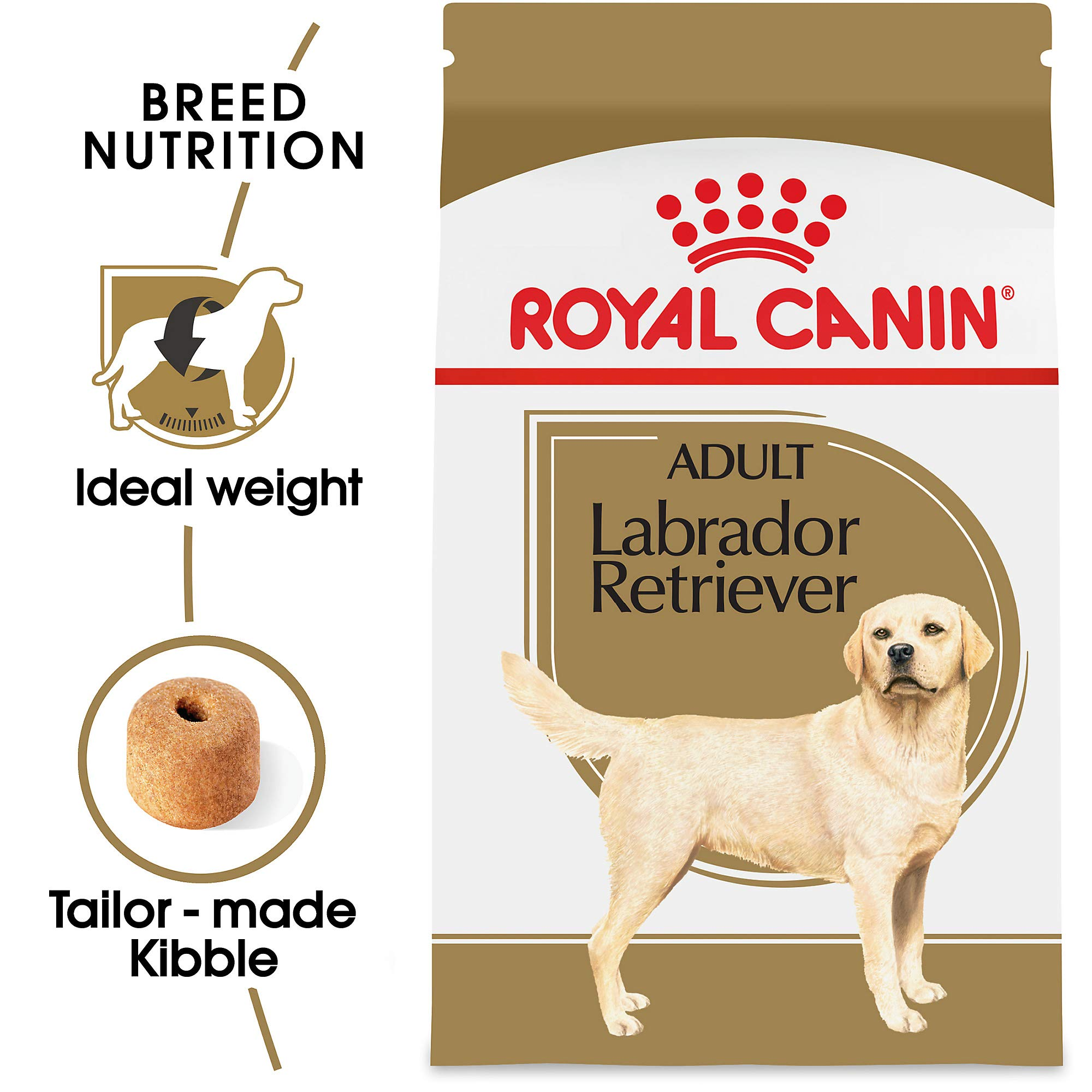 Royal Canin Labrador Retriever Adult Breed Specific Dry Dog Food, 30 lb. bag by Royal Canin
