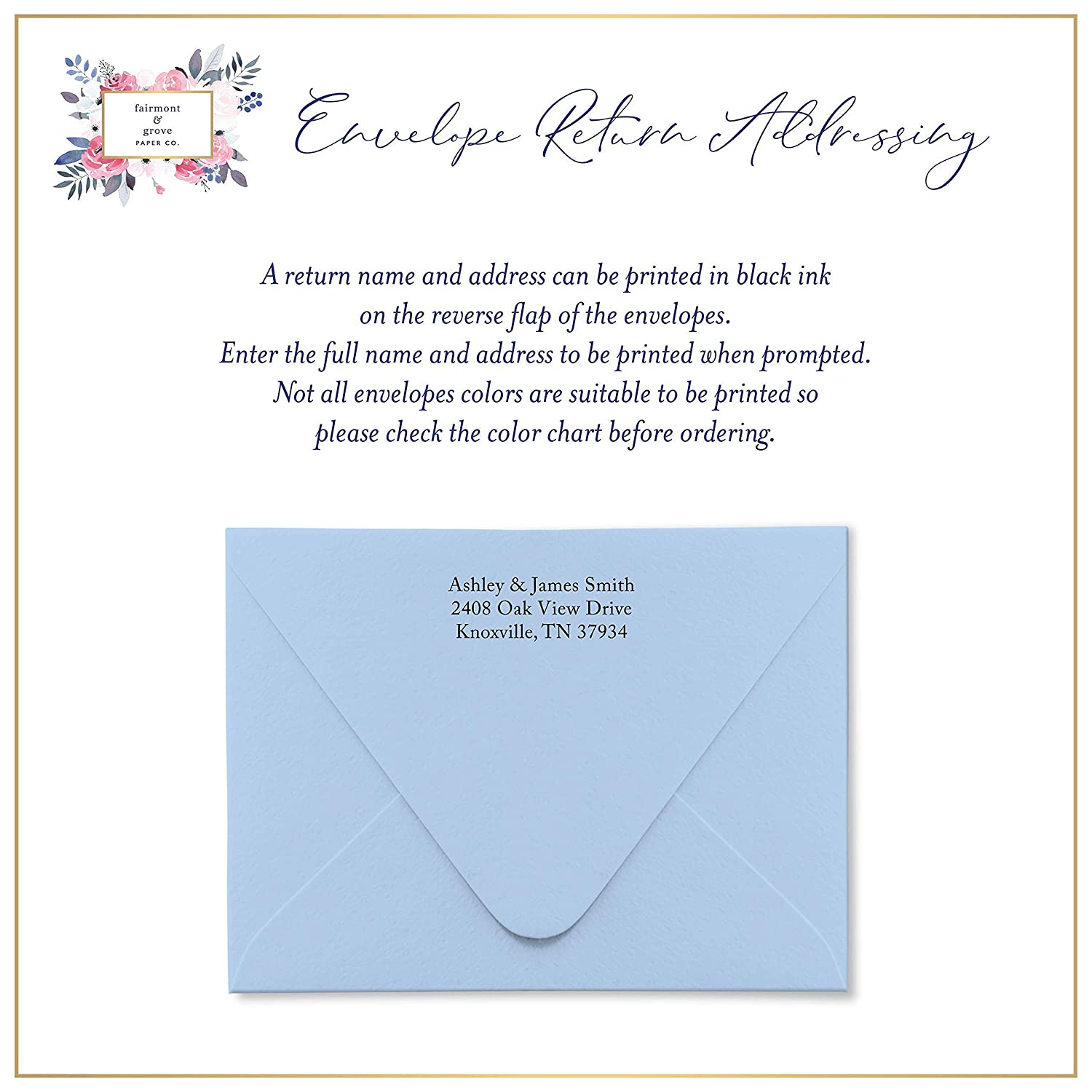 Professional Classic Simple Design Choose your Colors and Set Size Note Card with Envelopes Stationery Set for Men