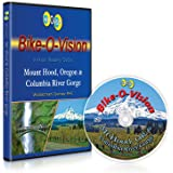 Bike-O-Vision - Virtual Cycling Adventure - Mt. Hood, Oregon & Columbia River Gorge - Perfect for Indoor Cycling and Treadmill Workouts - Cardio Fitness Scenery Video (Widescreen DVD #45)