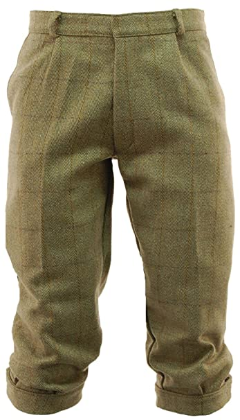 Victorian Men's Pants – Victorian Steampunk Men's Clothing Derby Tweed Breeks - 30 to 44