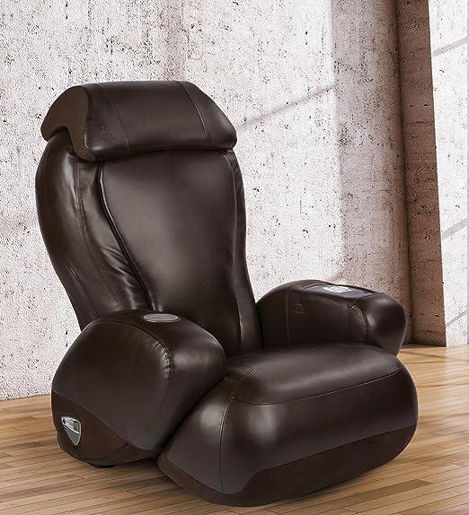 iJoy-2580 chaise de massage robotique Premium | Porte-gobelet | Prise de courant auxiliaire | Inclinaison complète | Option couleur espresso