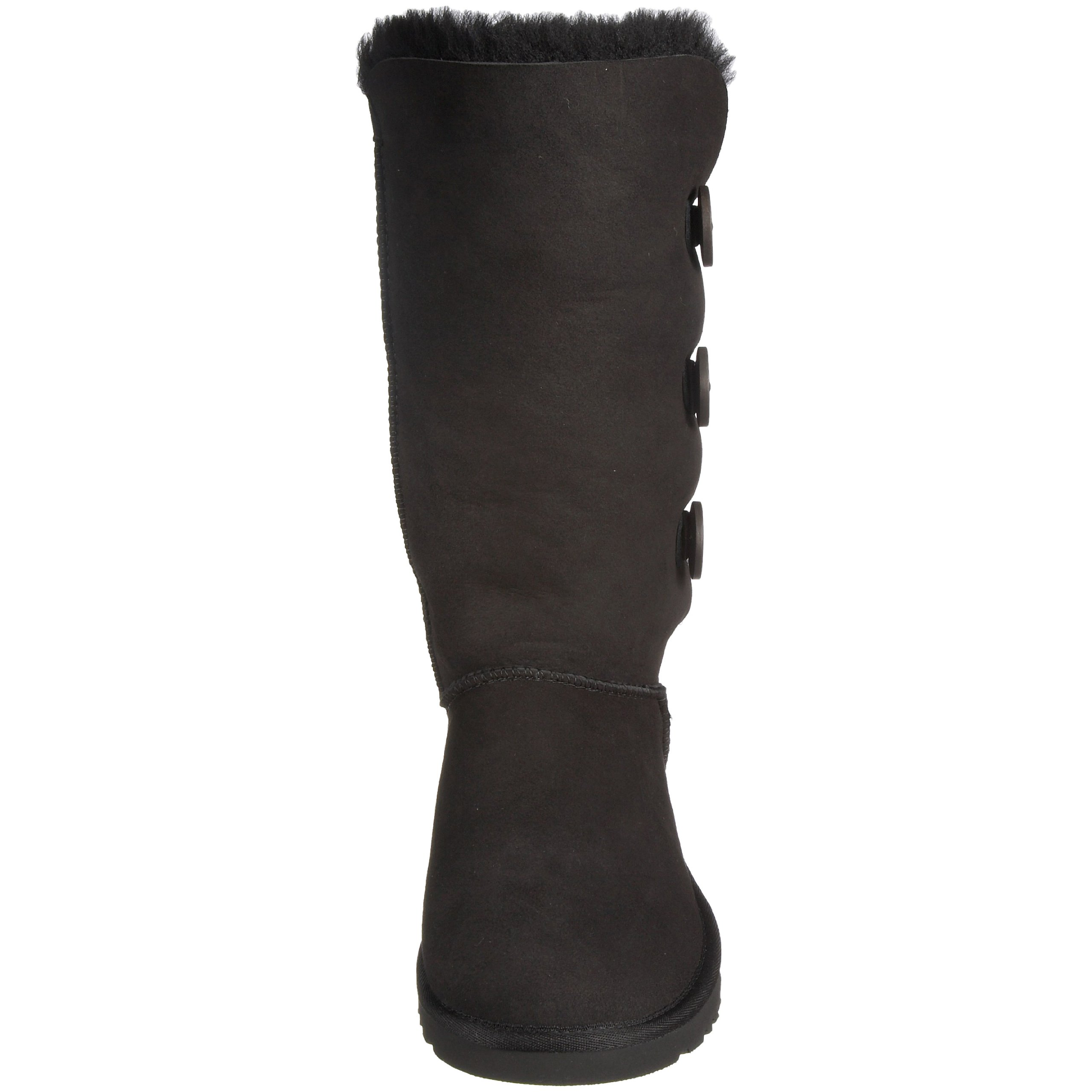 Ugg Women's Bailey Button Triplet Boot, Black, 6 M US by UGG (Image #4)