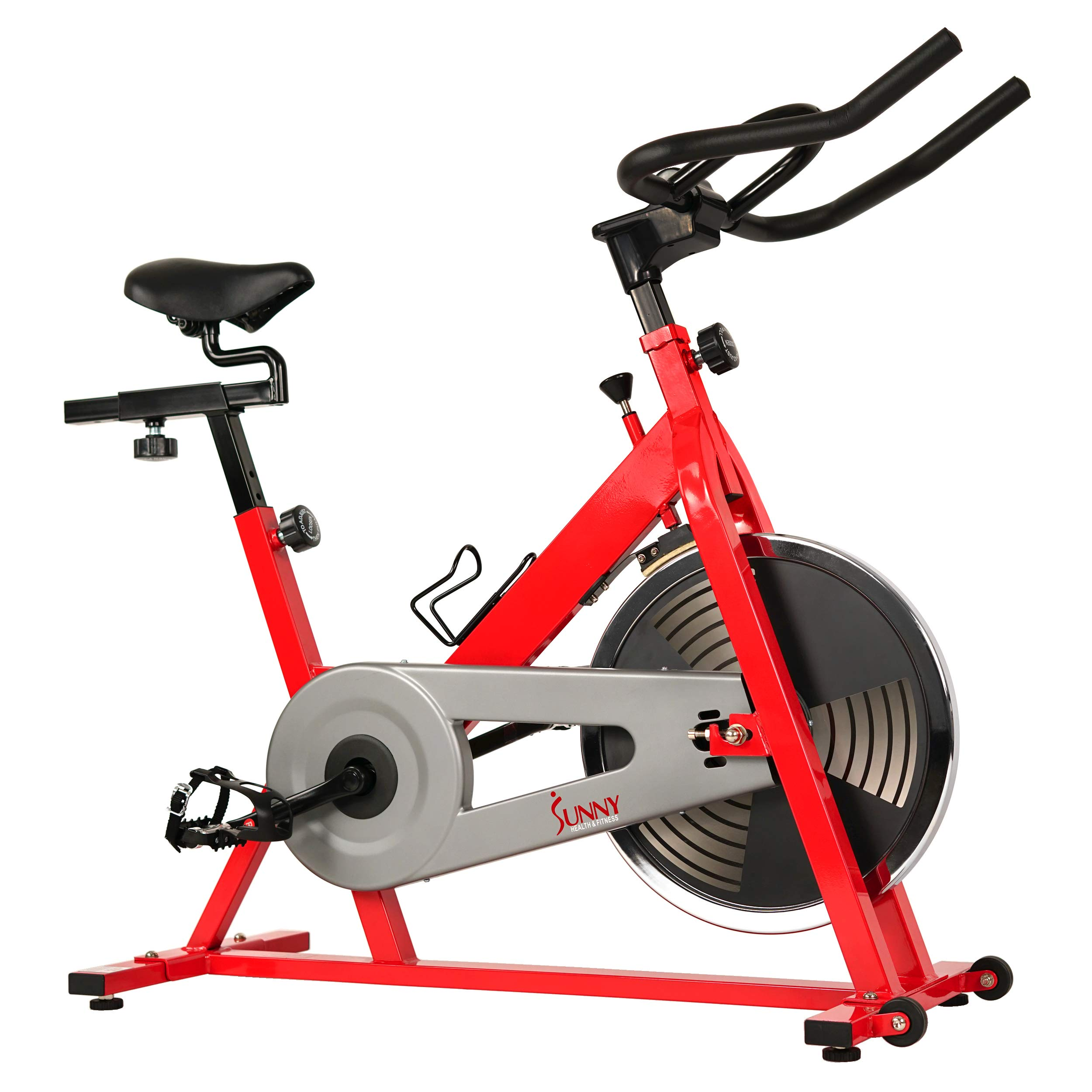 Sunny Health & Fitness SF-B1001 Indoor Cycling Bike, Red by Sunny Health & Fitness (Image #11)
