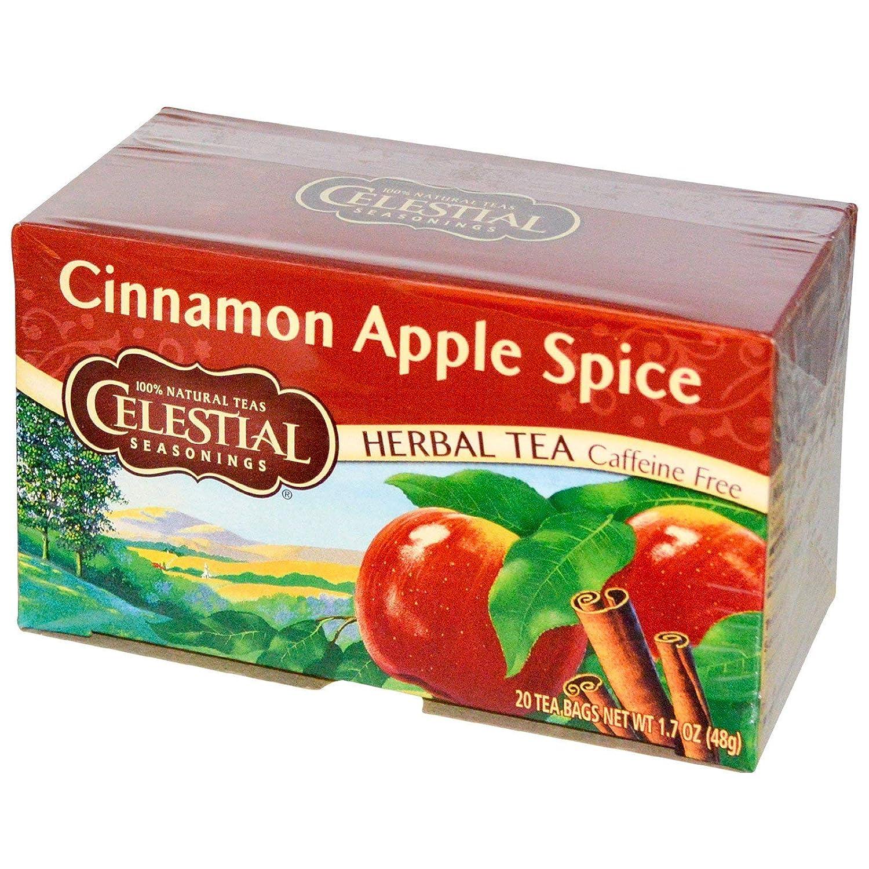 Celestial Seasonings Tea Herb Cinnamon Apple
