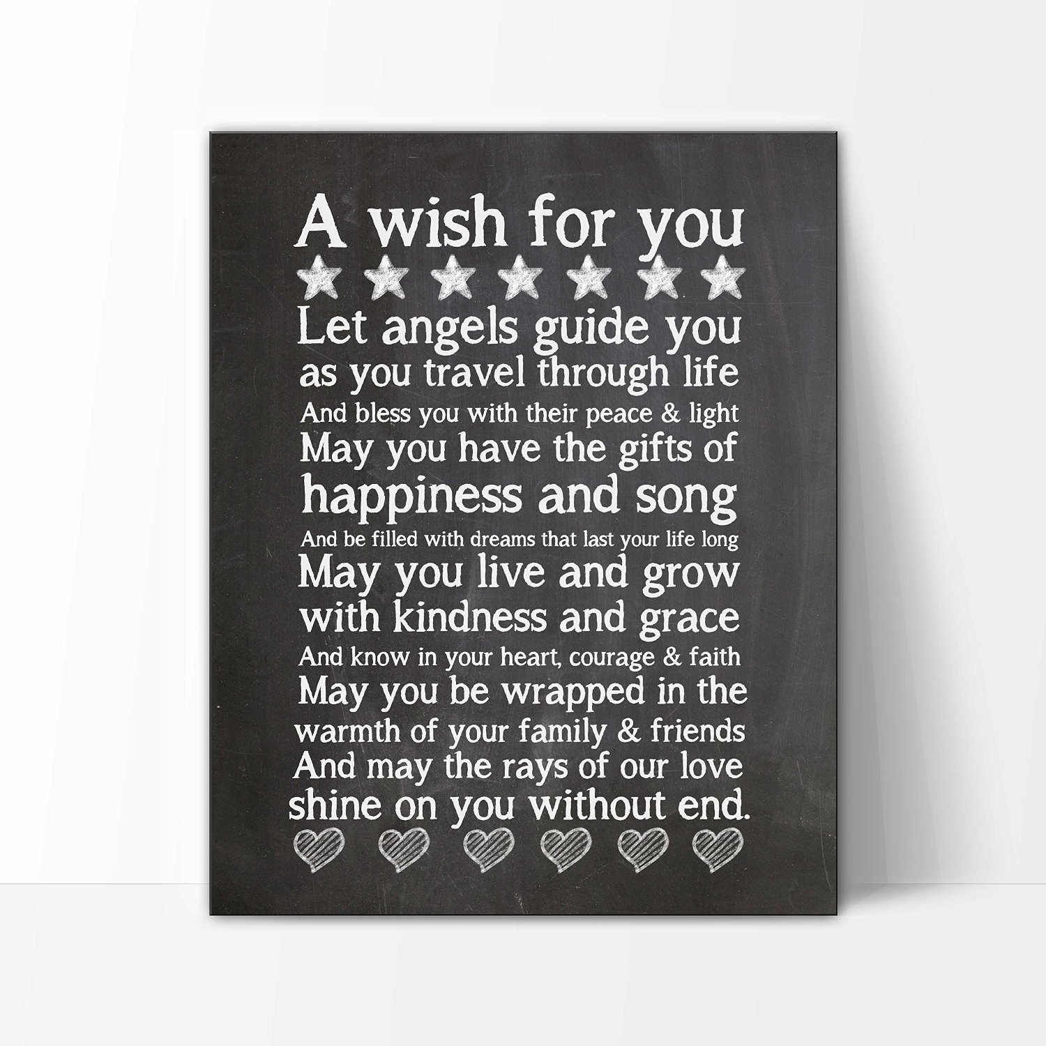 Amazon.com: Christening/Baptism Gift, My Wish For You 8x10, New Baby Gift, Nursery Art Print, Baby Gift, Babys First Christmas: Baby