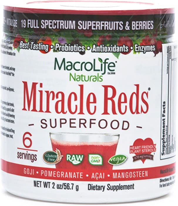 Top 8 Superfood Sterol Miracle Red
