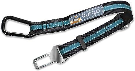 Kurgo K01965 Auto Zubehör Blau Direkt Zum Sicherheitsgurt Karabiner Klip Haustier