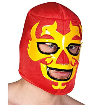 Mexican wrestler fancy dress uk cheap