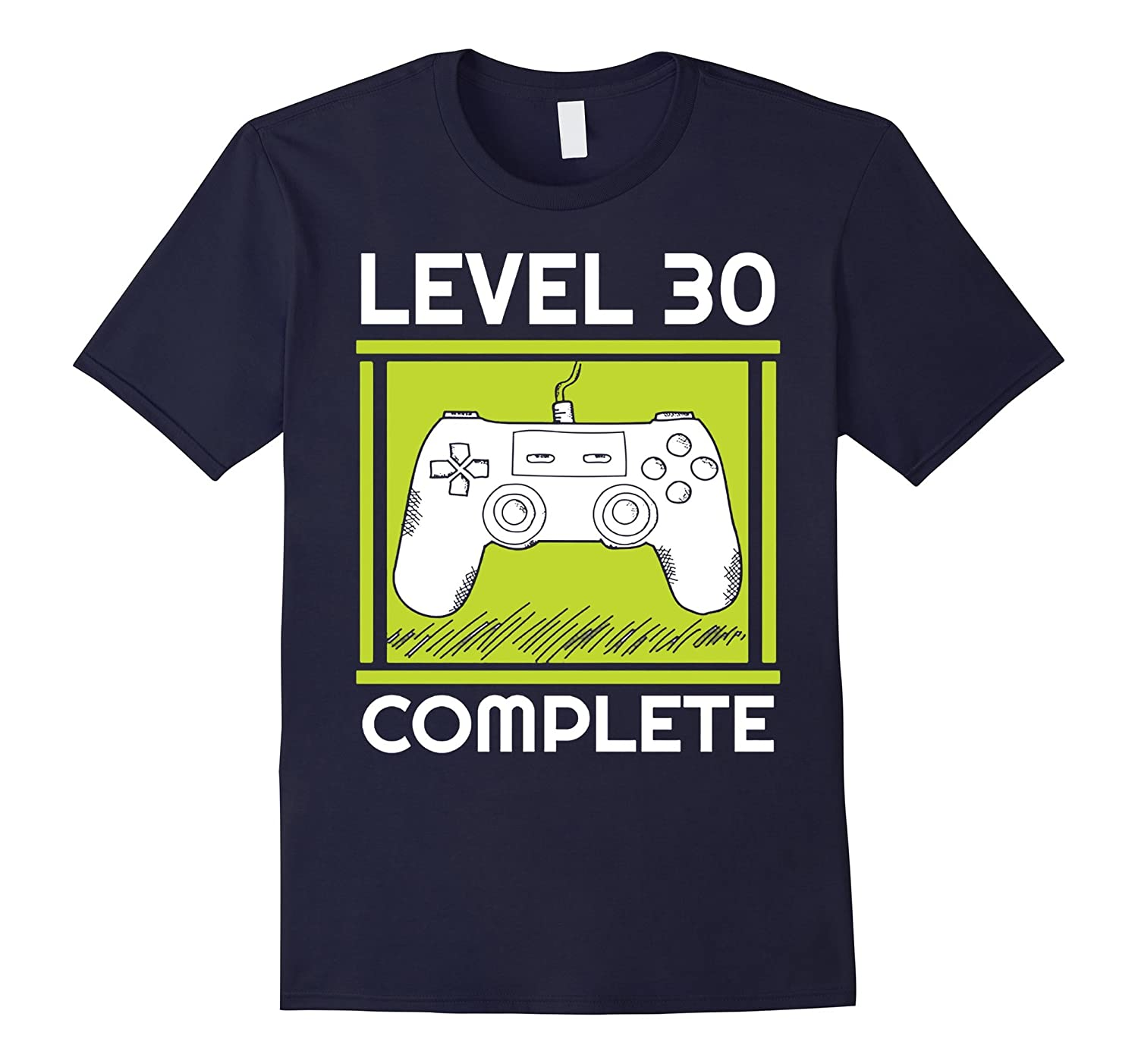 Level 30 Complete Funny Video Games 30th Birthday TShirt-Art