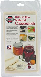 Norpro Natural Cheese Cloth, 2 Sqare Yards, 2 Square 1.67 Square Meters