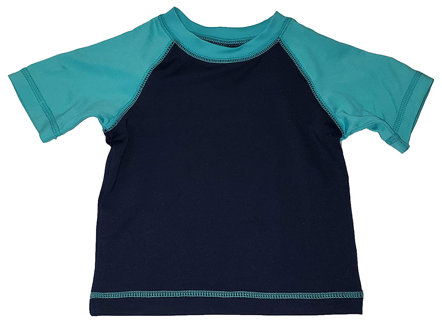 Wonder Nation Infant Boys Aquacade Blue Rash Guard