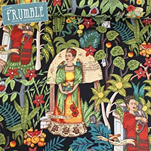 Alexander Henry Deco Jardín de la Frida negro costura tela (precio por metro): Amazon.es: Hogar