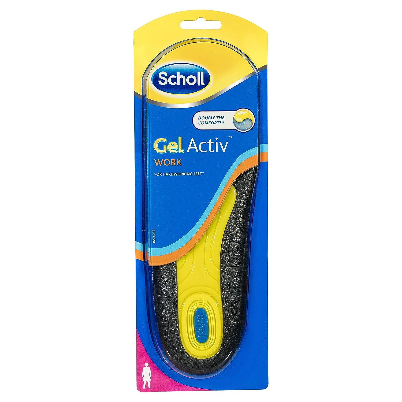 Scholl Einlegesohlen Gel Activ Work (Gr.35.5-40.5), 1 Paar 8167579