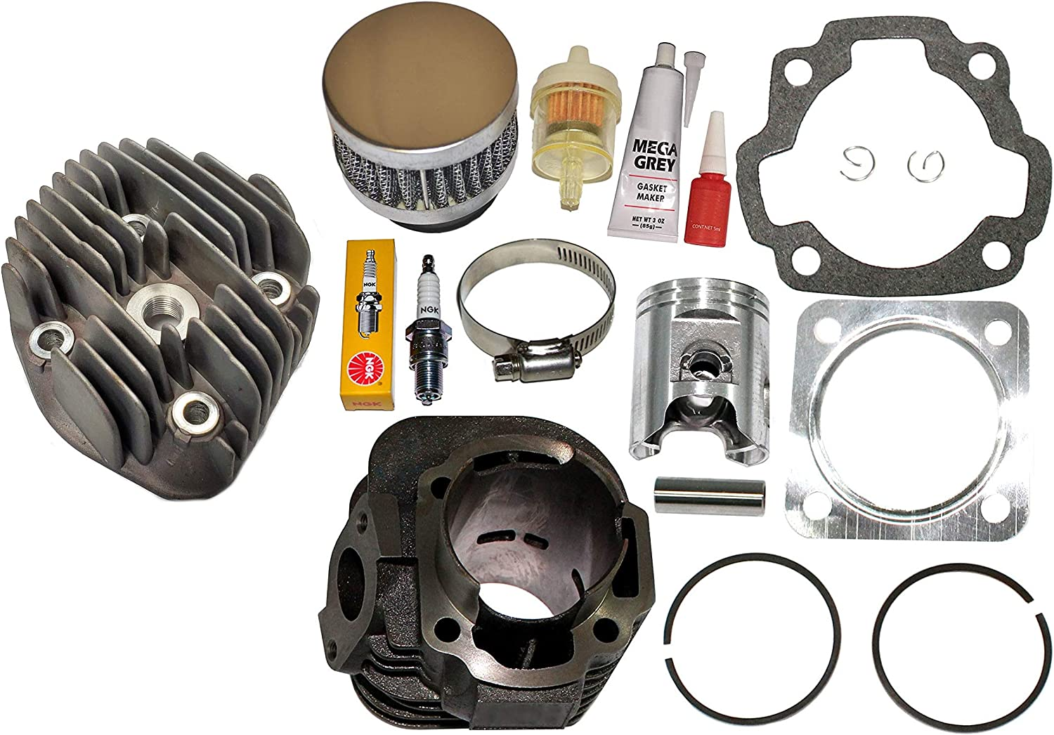 DS90 CYLINDER PISTON KIT GASKETS FITS CLIPS 2002-2006