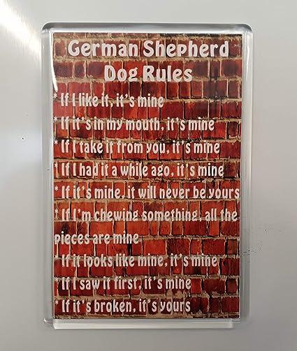 Auto combined postage No 1 German Shepherd//Alsatian Key Ring By Starprint