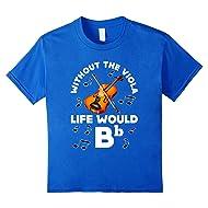 Funny Viola Violin T-shirt Music Band School Student Gift